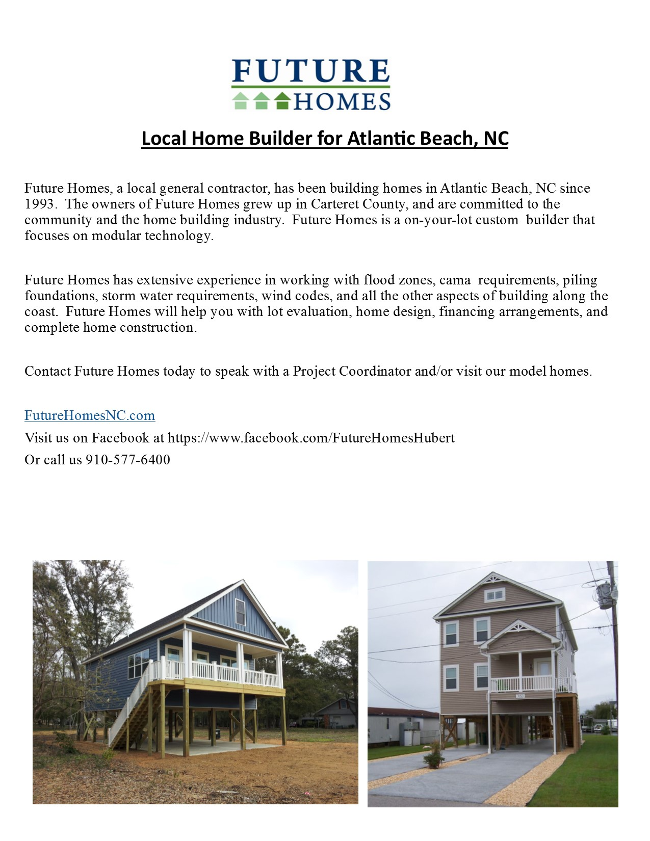 Atlantic Beach NC | Future Homes