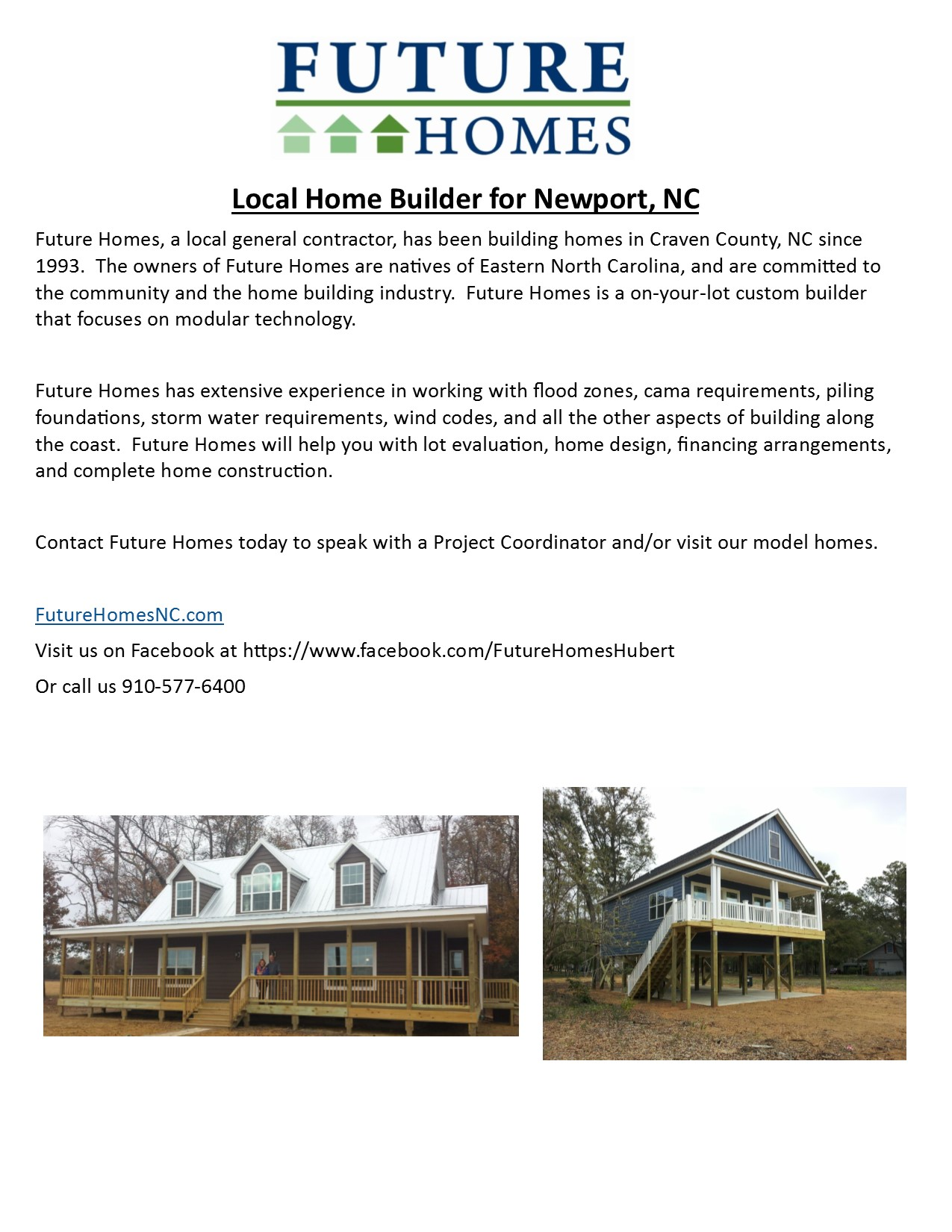 Craven county new construction future homes for Custom homes new bern nc