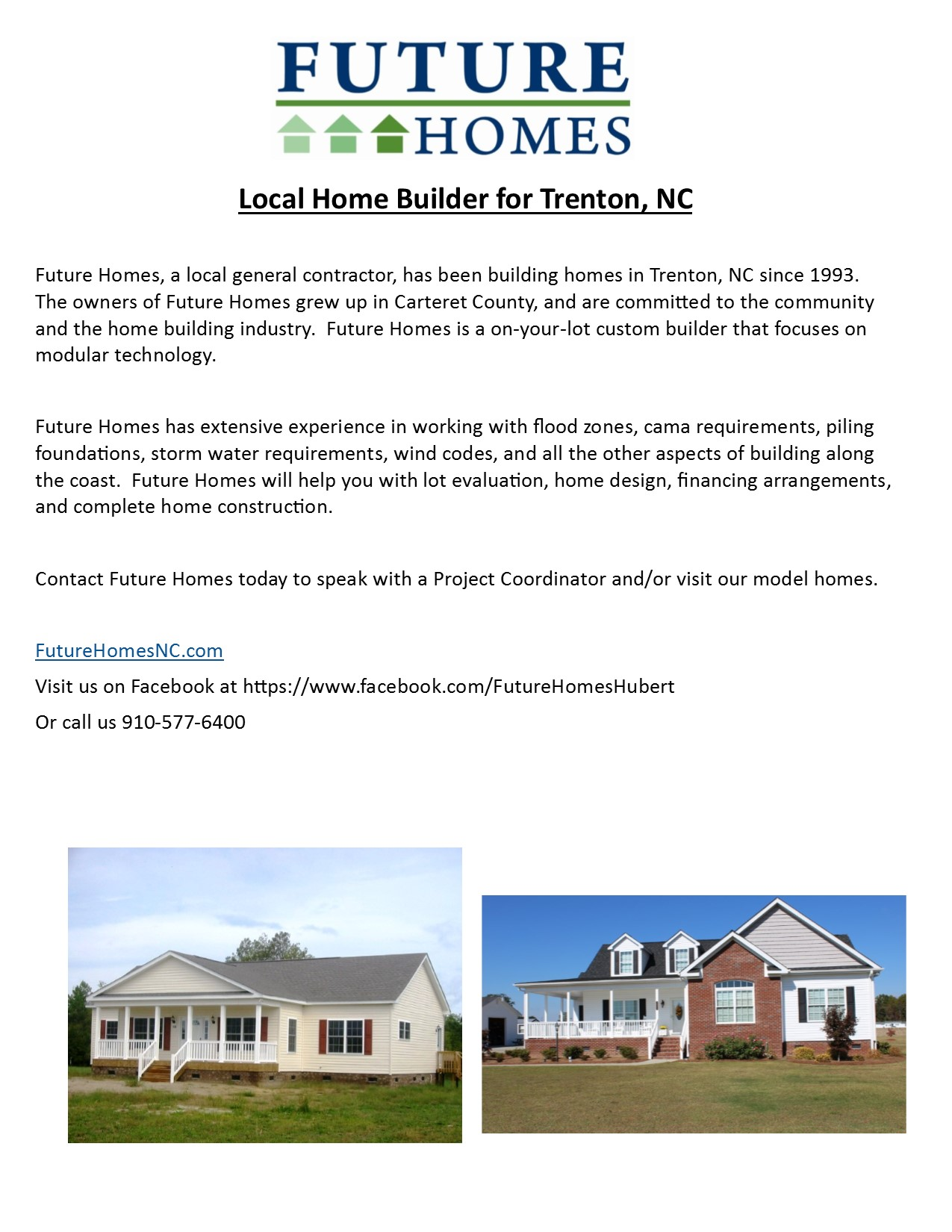 New Construction | Future Homes