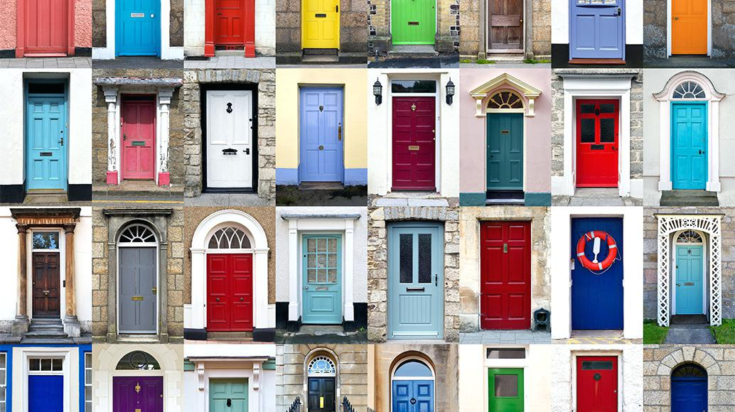 So What Is Important About The Color Of Your Front Door A House Or Business Like Greeter At If Person Friendly