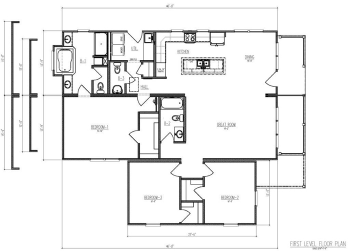 Modular homes in hampstead nc modular homes jacksonville for Carolina cottage house plans