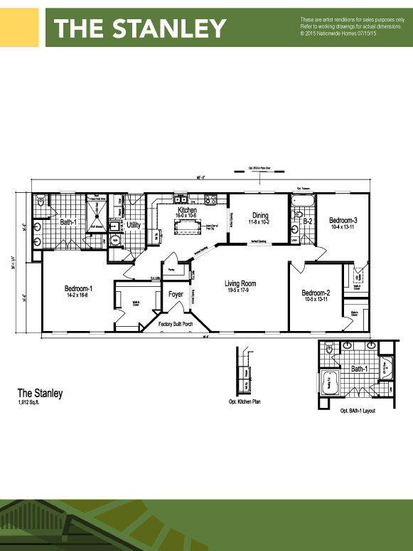 Modular homes in hampstead nc modular homes jacksonville for Stanley home designs